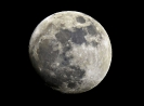 Mond am 29. März 2010